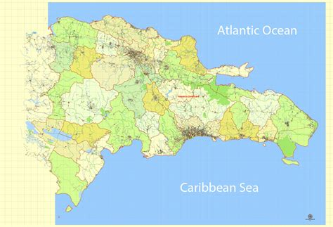 printable map dominican republic dominican republic map extra detailed printable exact