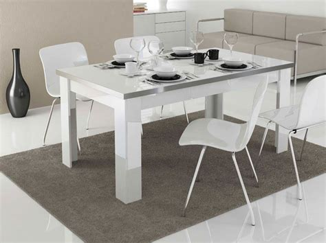 mesa de comedor llorenze  en color blanco