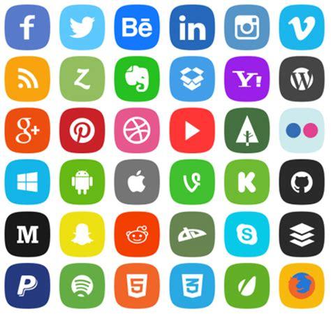 visor imagenes web gratis iconos para enlazar redes sociales uso libre