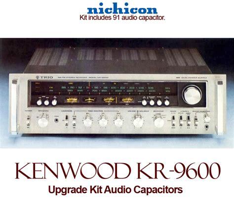 audio capacitor store kenwood kr 9600 upgrade kit audio capacitors