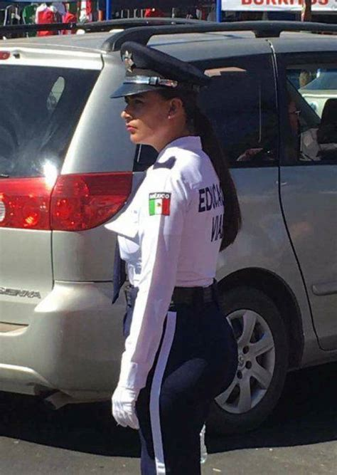 wow  mexican policewoman  engage