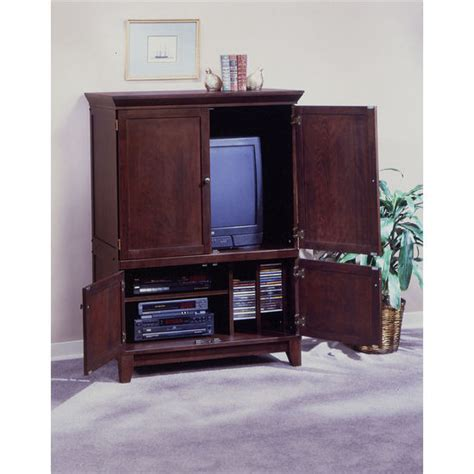 media center armoire entertainment centers wood tv armoire w media storage