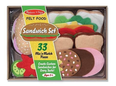 Sandwich Set N Doug and doug felt food sandwich set new free