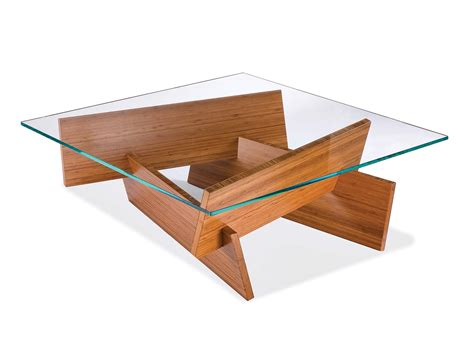 glass top coffee table design plans image mag