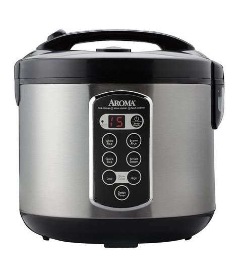 Rice Cooker Maspion Mrc 150 N Aroma 20 Cup Sensor Logic Rice Cooker Food Steamer Dillards