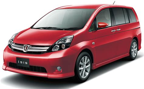 mpv toyota 2016 toyota isis mpv gets mild updates in japan image 473238