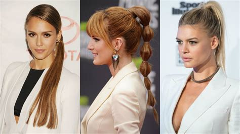 Office Hairstyles by Office Ponytails For 2016 Fall Business Style Looks