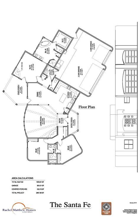 santa fe floor plans 17 best images about rachel matthew floor plans on