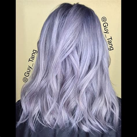 guy tang grey hair silver hair don t care kenra silver metallic with violet