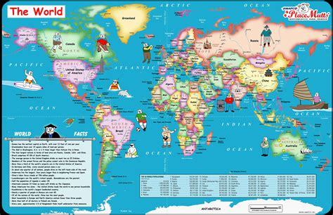 maps c placemutts 174 world placemat map for 171 jimapco
