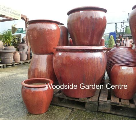 Large Garden Planters And Pots by Large Pots And Large Copper Glazed Pot Tree