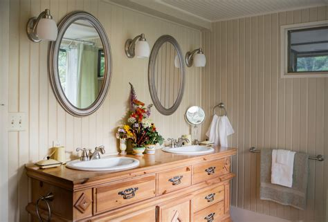 bathroom mirrors st louis beadboard bathroom vanity with stained vanity powder room
