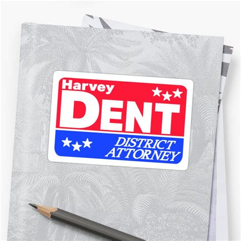 Harvey Dent Sticker quot i believe in harvey dent quot stickers by liamsandy redbubble