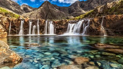 fairy pools saved  skye high tourism  community
