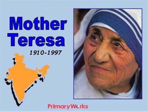 mother teresa biography powerpoint mother teresa
