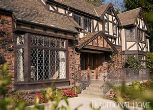 Tudor Style Windows Decorating Beautifully Updated Tudor Style Home Traditional Home
