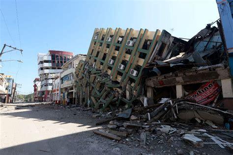 imagenes impactantes terremoto ecuador terremoto en ecuador nuevo terremoto de 6 1 de magnitud