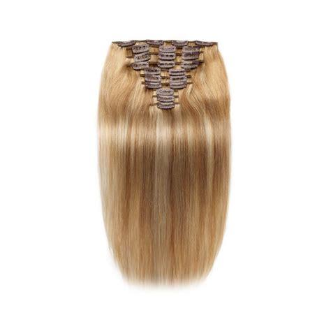 light cylinder hair extensions full head set 8 light brown mixed 613 bleach blonde