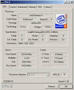 cpu info rate your cpu speed at games