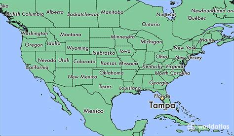 florida on a world map where is ta fl where is ta fl located in the