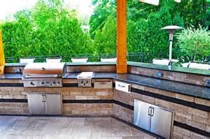 Custom Outdoor Kitchen Designs by Outdoor Kitchen Ideas Cleveland