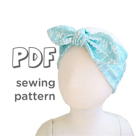 Knot Wide Headband wide knot headband pattern for knits pdf pattern 5