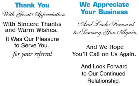 thank you letter to customer for business success marbled business thank you note card on the promotions