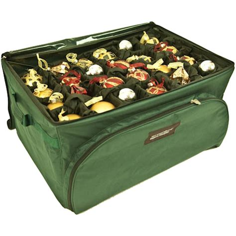 christmas ornament storage container organization store