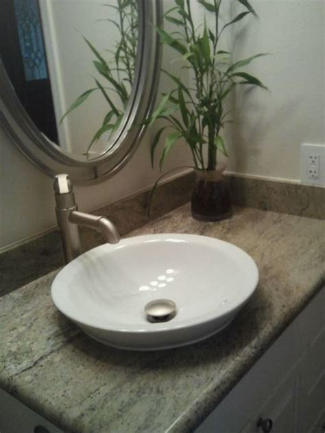 raised bathroom sinks raised sink with granite vanity top
