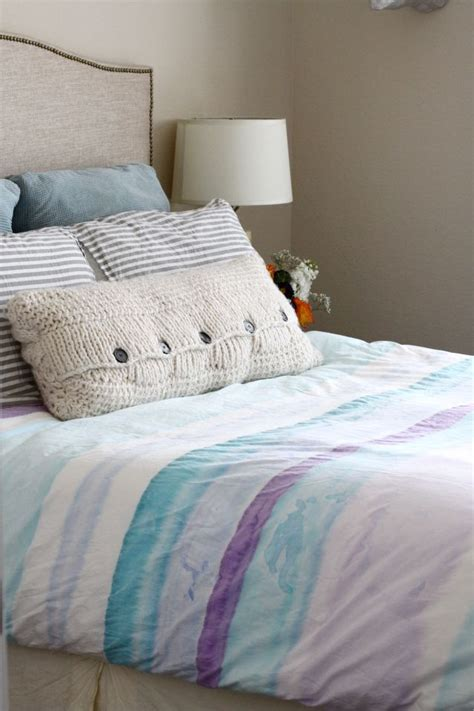 sewing a comforter how to sew and paint your own duvet cover how to sew