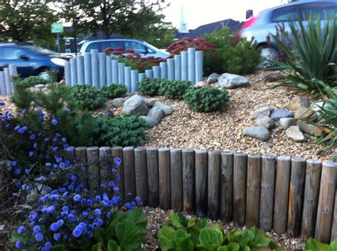 Railway Sleepers Ni by Landscaping Poles At East Midlands Conference Centre