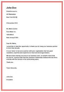 Business Letters Are Written To Business Letter Formats