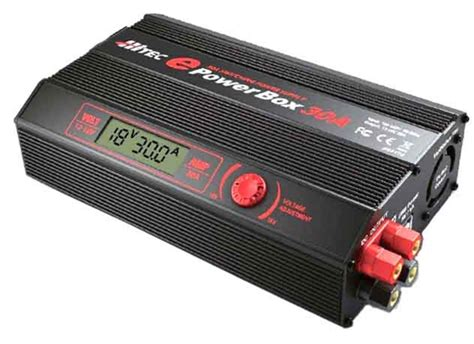 Power Supply 12v 10a Box hrc44174 hitec epowerbox 30 30 12 volt dc power supply