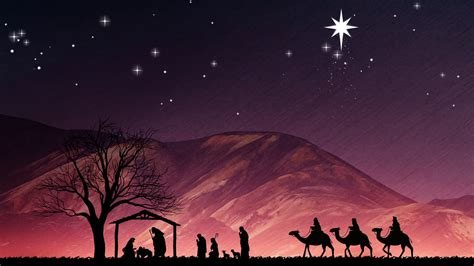 free christmas wallpapers of jesus in a manger nativity backgrounds 183
