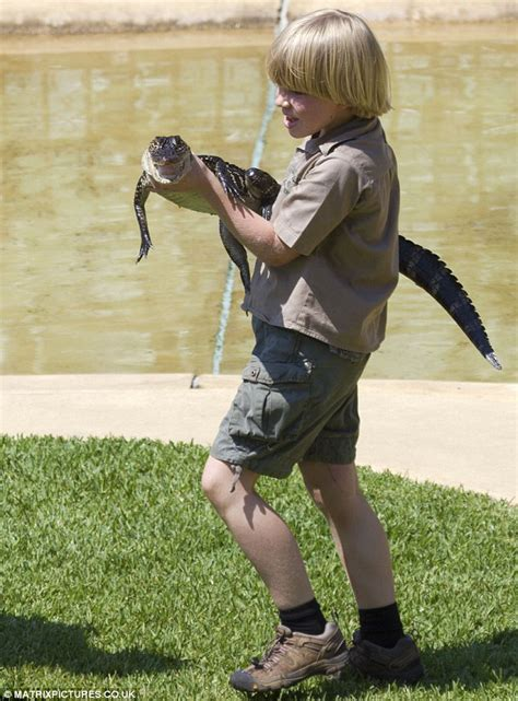 robert boymodel like father like son steve crocodile hunter irwin s son