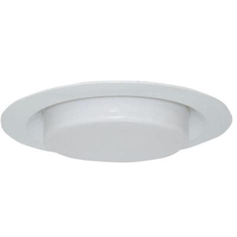 design house 6 in white recessed lighting shower trim