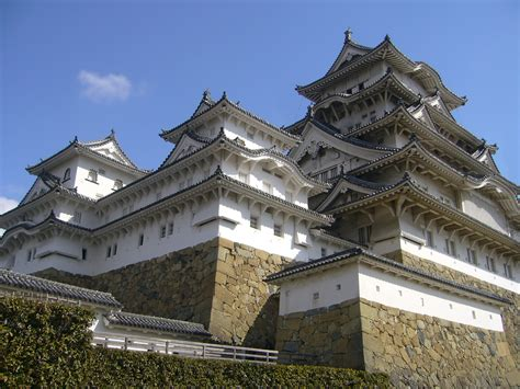 himeji castle 17c japan architecture far east the