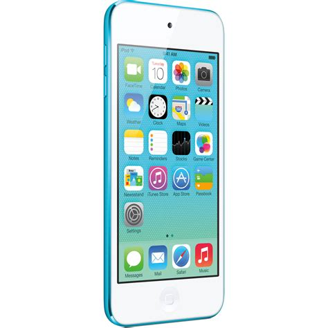 ipod touch 6th generation apple 32gb ipod touch blue 5th generation md717ll a b h