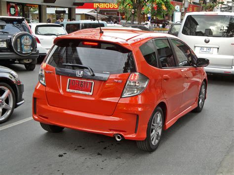 Spion Jazz Rs 2008 2012 Ge my rs rear bumper jdm version unofficial honda