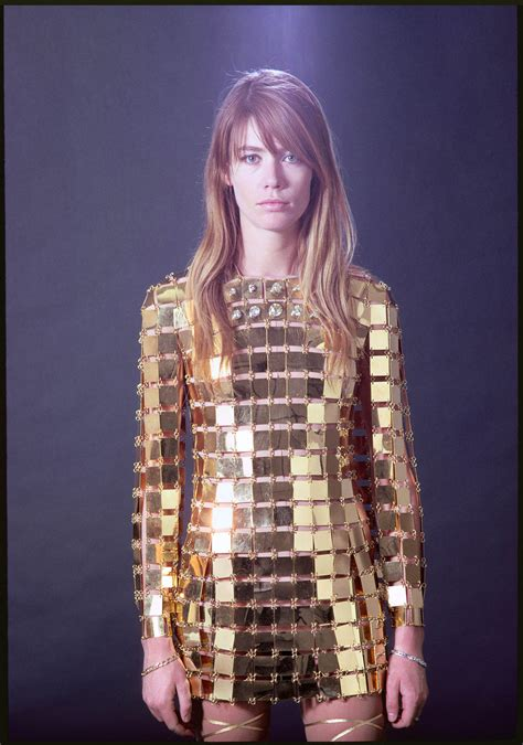 francoise hardy gold dress fran 231 oise hardy muses it women the red list