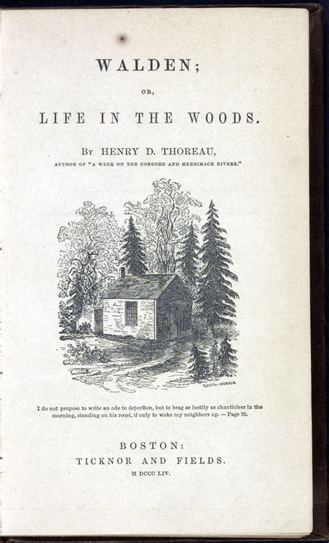 walden books and materials 1850 to 1900 books that shaped america exhibitions