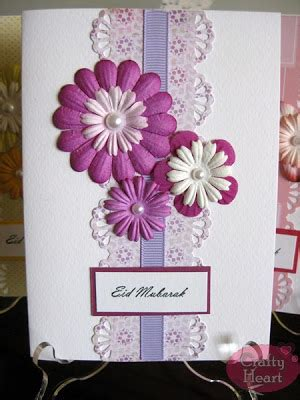 Handmade Eid Cards - eid mubarak handmade cards crafty crafts