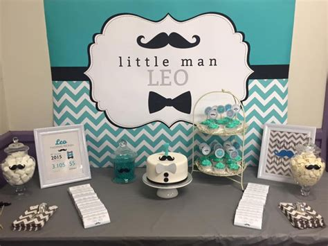 Candy Buffet Ideas For Bridal Shower by Little Man 1st Birthday Candy Buffet For Leo Little