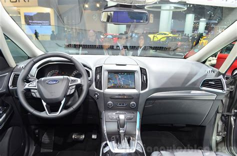 Smax Interior by 2015 Ford S Max Interior At The 2014 Motor Show