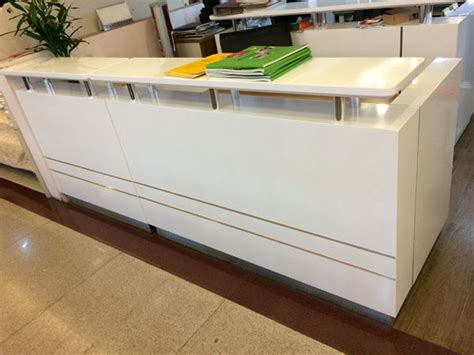 white cheap used reception desk salon reception desk buy