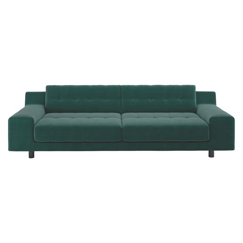 emerald green velvet sofa hendricks emerald green velvet 3 seater sofa buy now at
