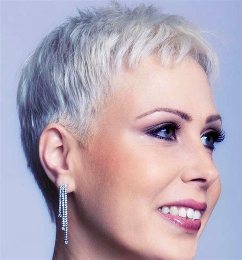 hairstyles thin fine grey hair 814 best haircuts images on pinterest pixie haircuts