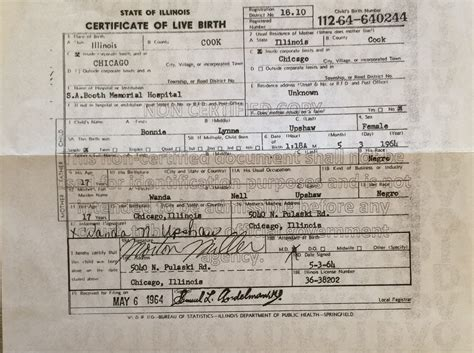 Free Birth Records Illinois Images Of Birth Certificates Business Cards And Resume