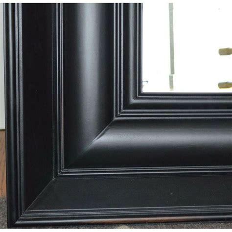 Black Floor Mirror by Large Black Floor Mirrors A Pair
