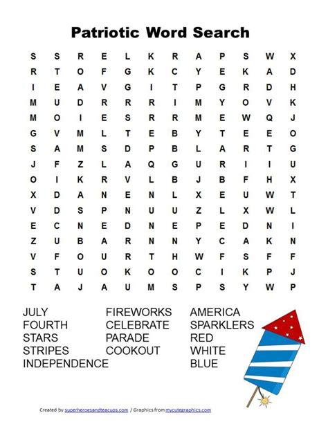 printable navidad word search patriotic word search free printable